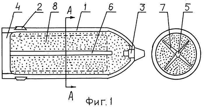 """Осколочно-фугасный снаряд """"скнятин"""" с пластизольным снаряжением"""
