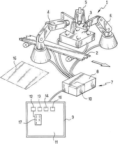 Способ управления роботизированной рабочей станцией и соответствующая роботизированная рабочая станция