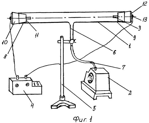 Газоразрядная трубка для демонстрации тлеющего разряда