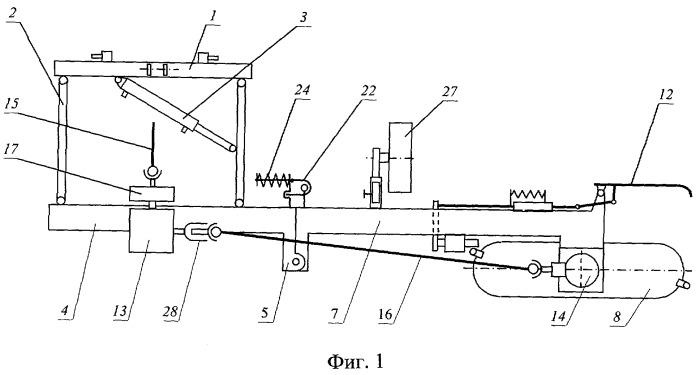 Машина для обработки приствольных полос в саду