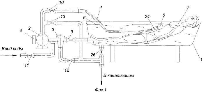 Способ проведения гидровакуумного массажа и устройство для его осуществления