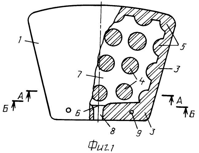 Секторный элемент дискового керамического фильтра
