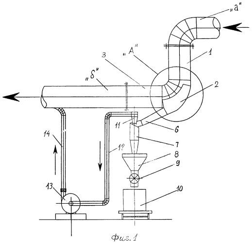 Инерционный газоочиститель