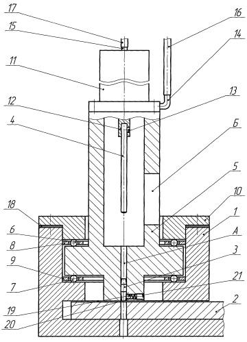 Устройство для дорнования отверстий малого диаметра