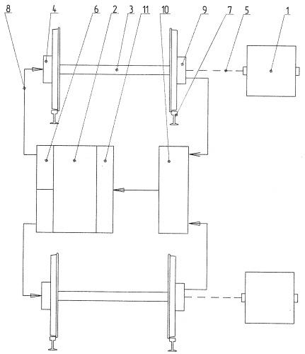 Устройство для повышения коэффициента сцепления колес локомотива с рельсами