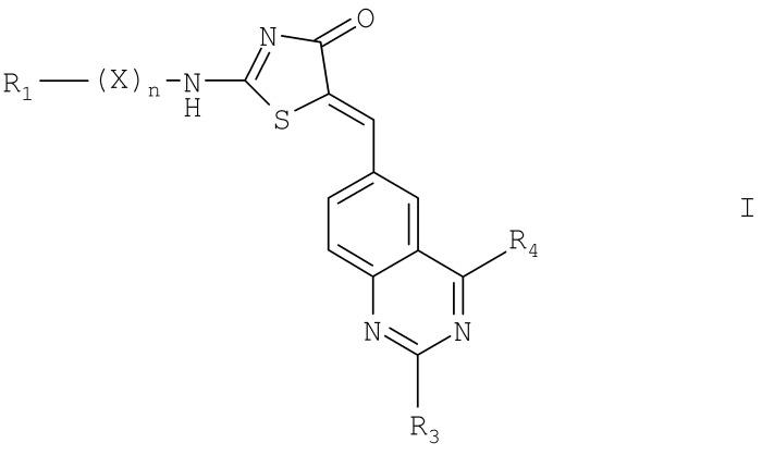 Хиназолинилметилентиазолиноны в качестве cdk-1 ингибиторов