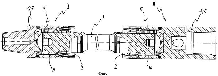 Карданный вал гидравлического забойного двигателя