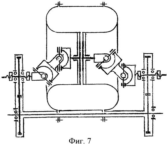 Шарнирно-поршневой механизм