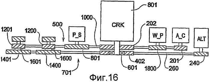 Система ременной передачи с изменяемым передаточным отношением