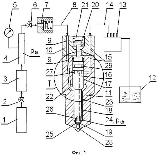Система подачи альтернативных топлив в камеру сгорания дизеля