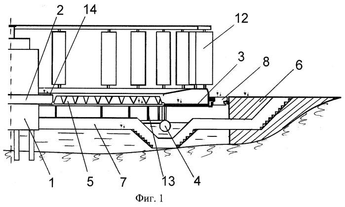 Ветроэнергетическая установка на водной поверхности