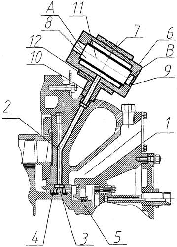 Турбокомпрессор наддува двигателя внутреннего сгорания