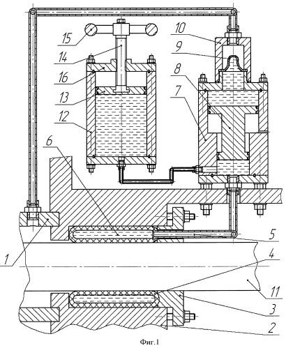 Уплотнение подвижного вала гидравлической машины (варианты)