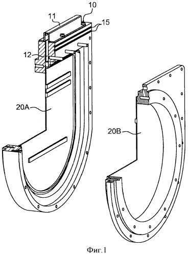 Система разобщения двух устройств, каждое из которых содержит камеру, герметично сообщенную с камерой другого устройства