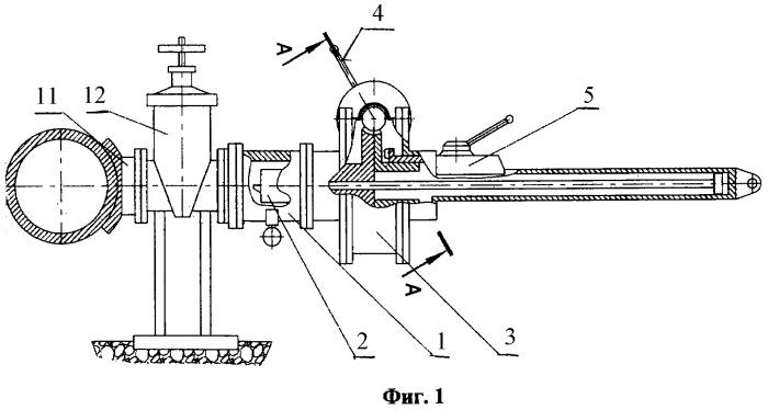 Устройство для присоединения трубопроводов к газопроводам без снижения давления газа