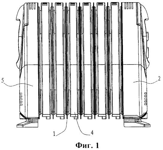 Электротермический масляный радиатор