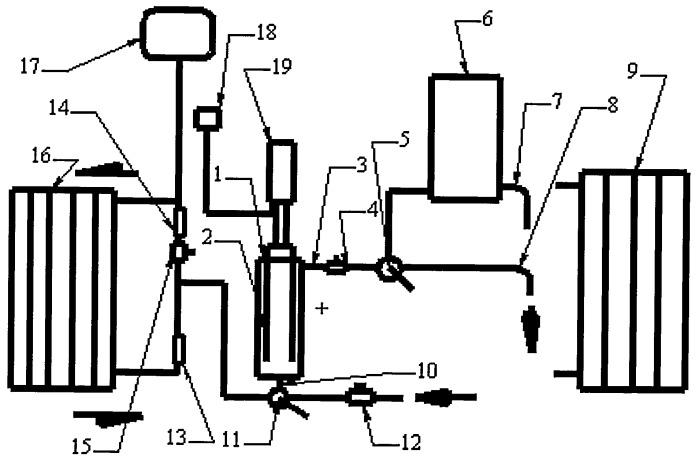 Способ циркуляции жидкости по трубопроводу и пароводяной насос для его реализации