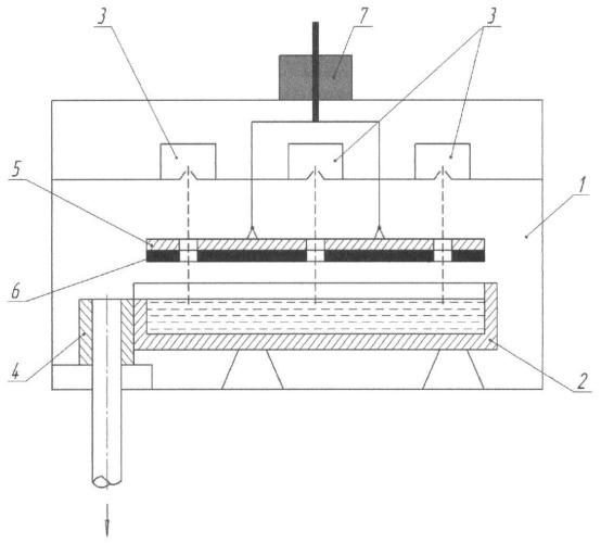 Подовая печь для получения расплавленного металла