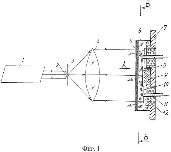 Голографический интерферометр для измерения деформаций плоской поверхности элементов твердотельной электроники