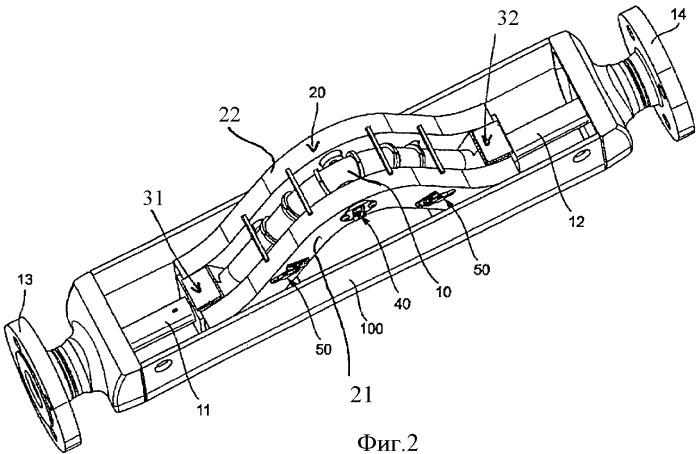 Измерительный преобразователь вибрационного типа и применение его во встроенном измерительном приборе