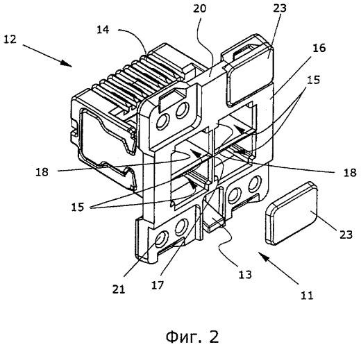 Адаптер и система штепсельного соединения