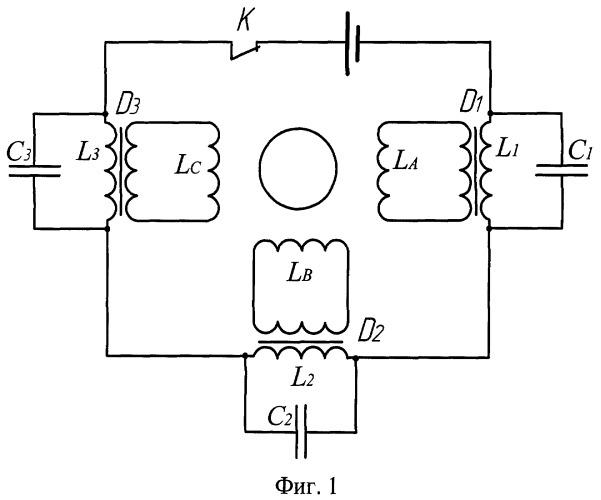 Схема подключения многофазного асинхронного двигателя к источнику постоянного тока