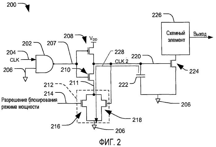 Схемное устройство и способ управления размахом напряжения