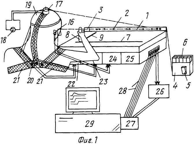 Устройство для регистрации угловых координат точечного объекта