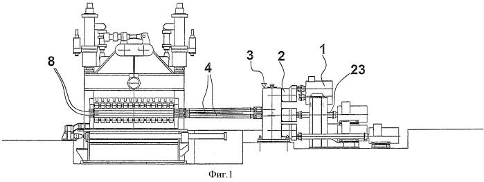 Приводное устройство для роликов машин, применяемых для обработки металлических изделий