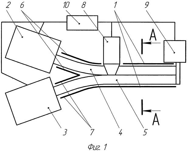 Установка для непрерывного изготовления строительных элементов (сэ) из гофрированных листов и/или бесконечного гофрированного полотна