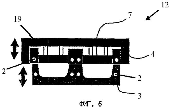 Устройство с охлаждаемой нижней частью для изготовления упаковочных лотков глубокой вытяжкой