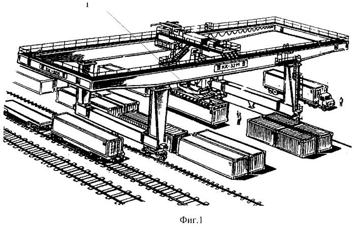 Крановые весы для взвешивания крупнотоннажных контейнеров