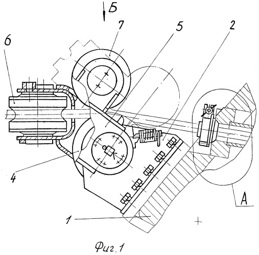 Механизм выдачи троса тяговой лебедки бронированной ремонтно-эвакуационной машины