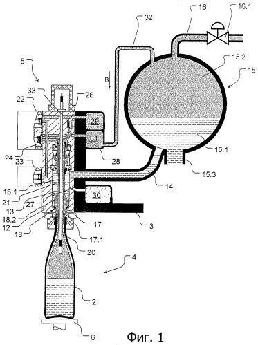 Способ наполнения бутылок или подобных емкостей одним жидким разливаемым продуктом и разливочная машина