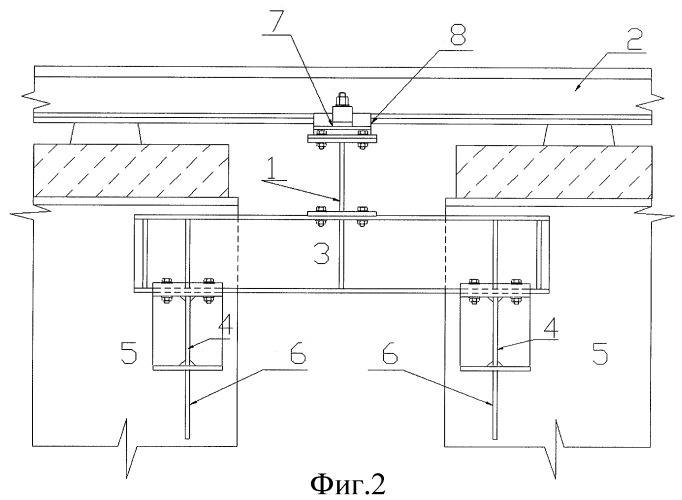 Устройство для крепления рельсов между пролетными строениями железнодорожных мостов