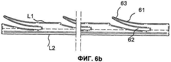 Механическое соединение в замок панелей пола с гибким щетинистым гребнем