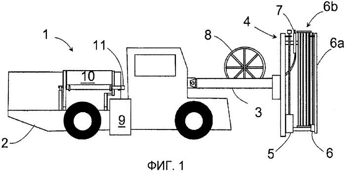 Конструкция бункера для цемента для горной машины