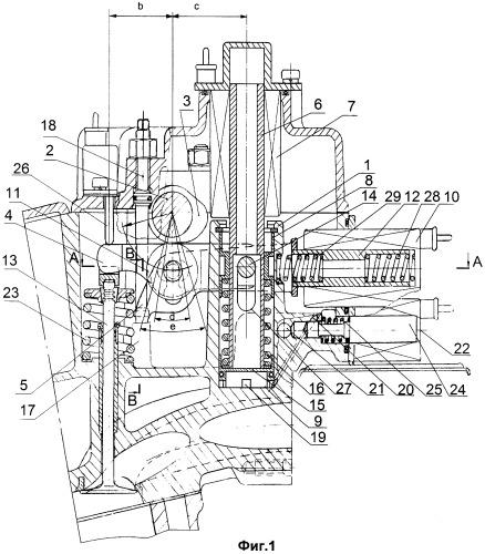 Устройство управления приводом клапана двигателя внутреннего сгорания