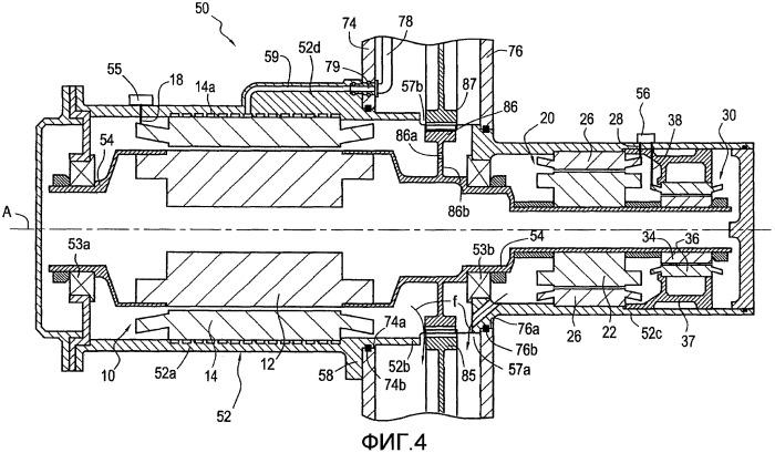 Интегрирование коробки модуля стартера/генератора в трансмиссионную коробку газовой турбины