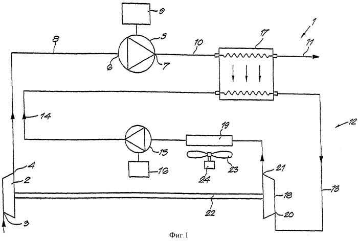 Усовершенствованный многоступенчатый компрессор