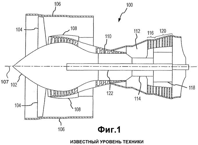 Упрочнение корпуса вентилятора в газотурбинном реактивном двигателе