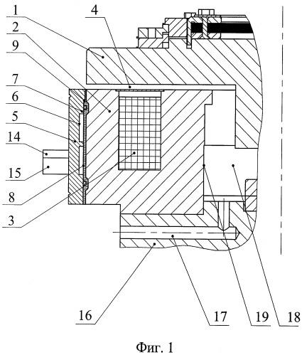 Электромагнитное разгрузочное устройство главного циркуляционного насосного агрегата