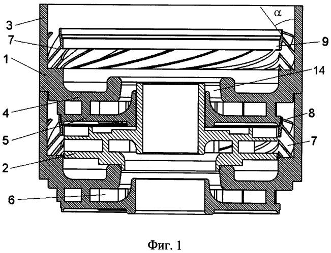 Направляющий аппарат многоступенчатого центробежного насоса