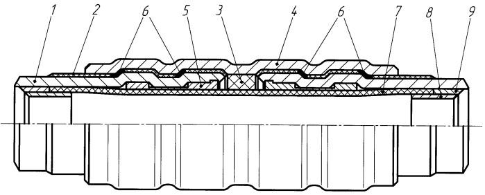 Способ изготовления токоизолирующей вставки для трубопровода
