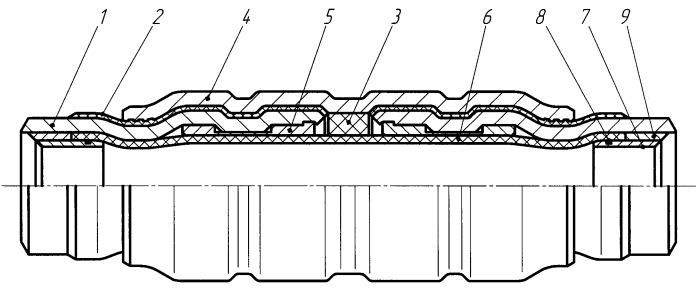 Способ изготовления электроизолирующей вставки для трубопровода