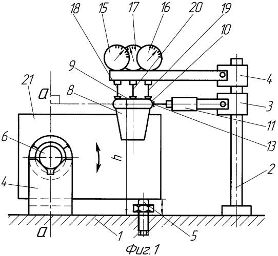Устройство для измерения отклонения взаимного расположения паза и оси отверстия