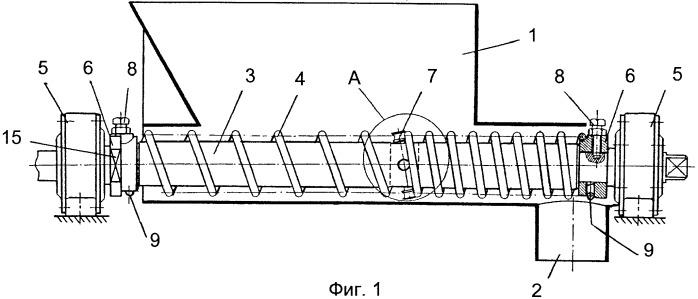 Питатель-дозатор сыпучих материалов