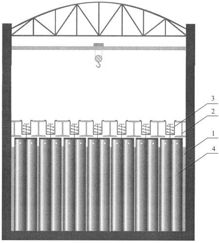 Способ длительного хранения отработавшего ядерного топлива