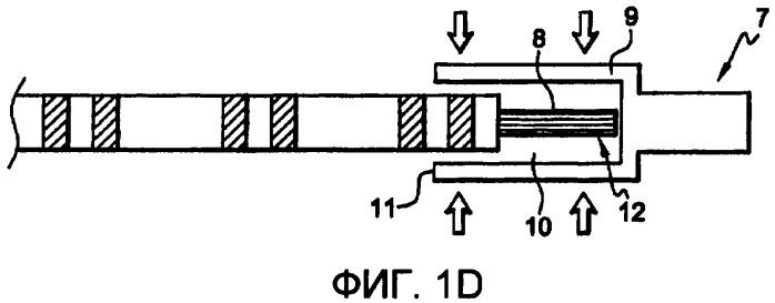 Электрический кабель, содержащий наружную разметку, и способ обжатия контактной гильзы на электрическом кабеле, содержащем наружную разметку