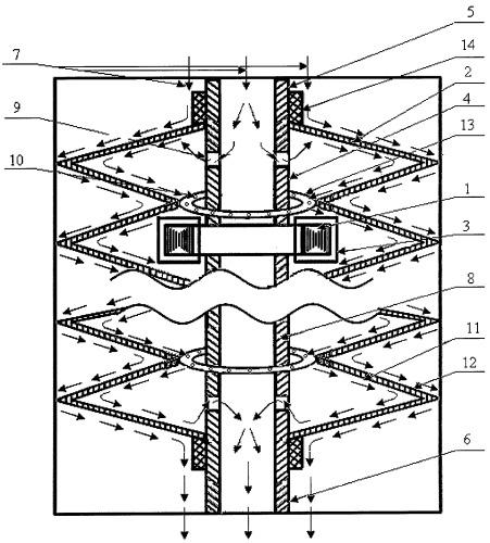 Электронагревательное устройство трансформаторного типа